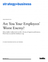 Are your employees your worst enemy
