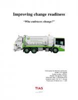 Improving Change Readiness – 141214