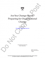 Is your organization change ready