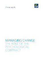 Managing the Changing Role of the Psychological Contract