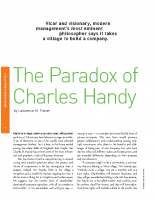 Paradox of Change _ Handy