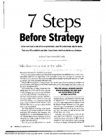 before strategy