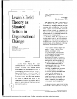 lewins field theory in OD change