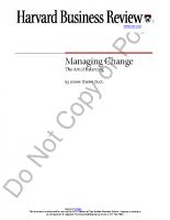 managing change_ the art of balancing